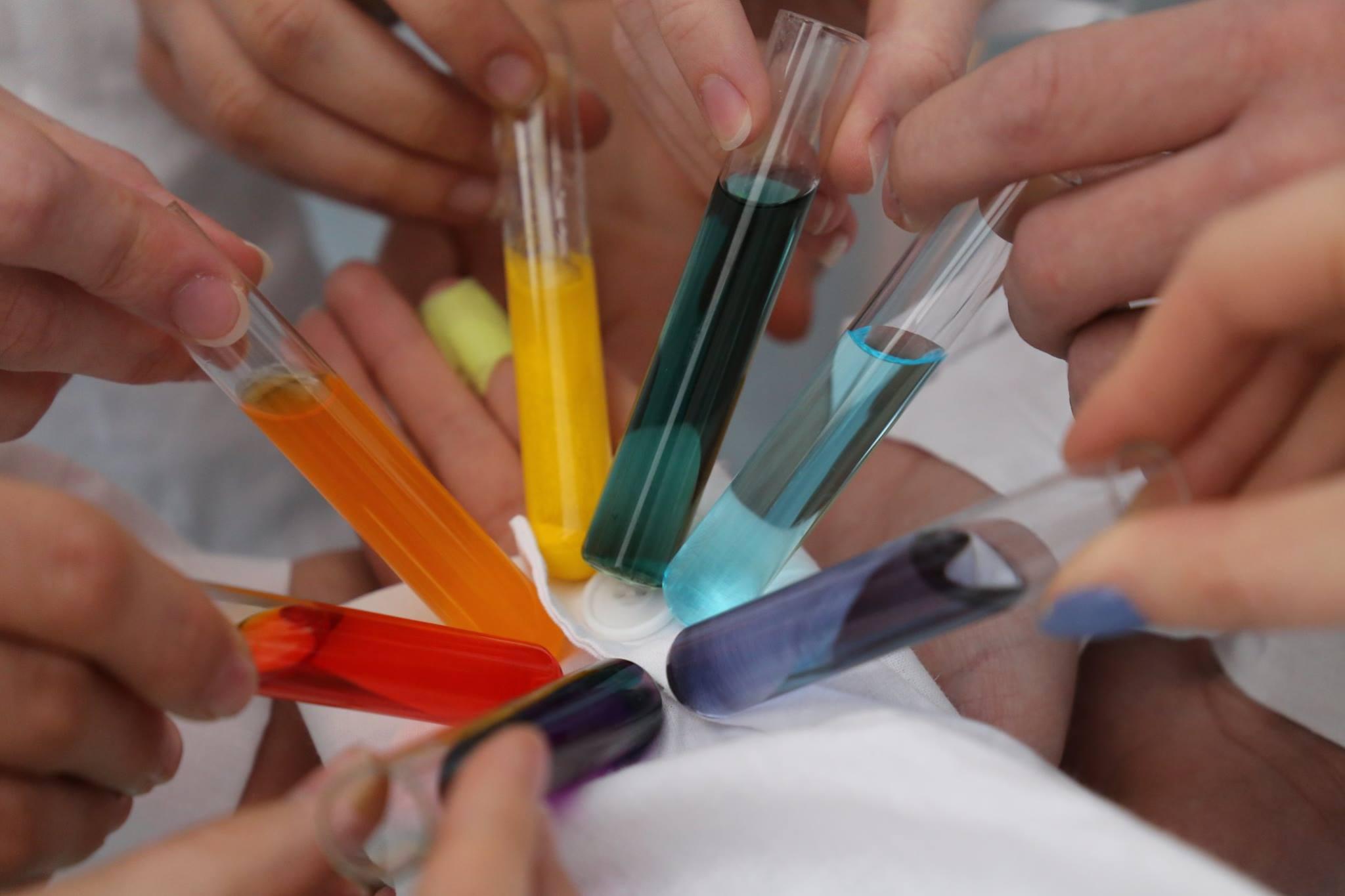 Kolorowy świat chemii